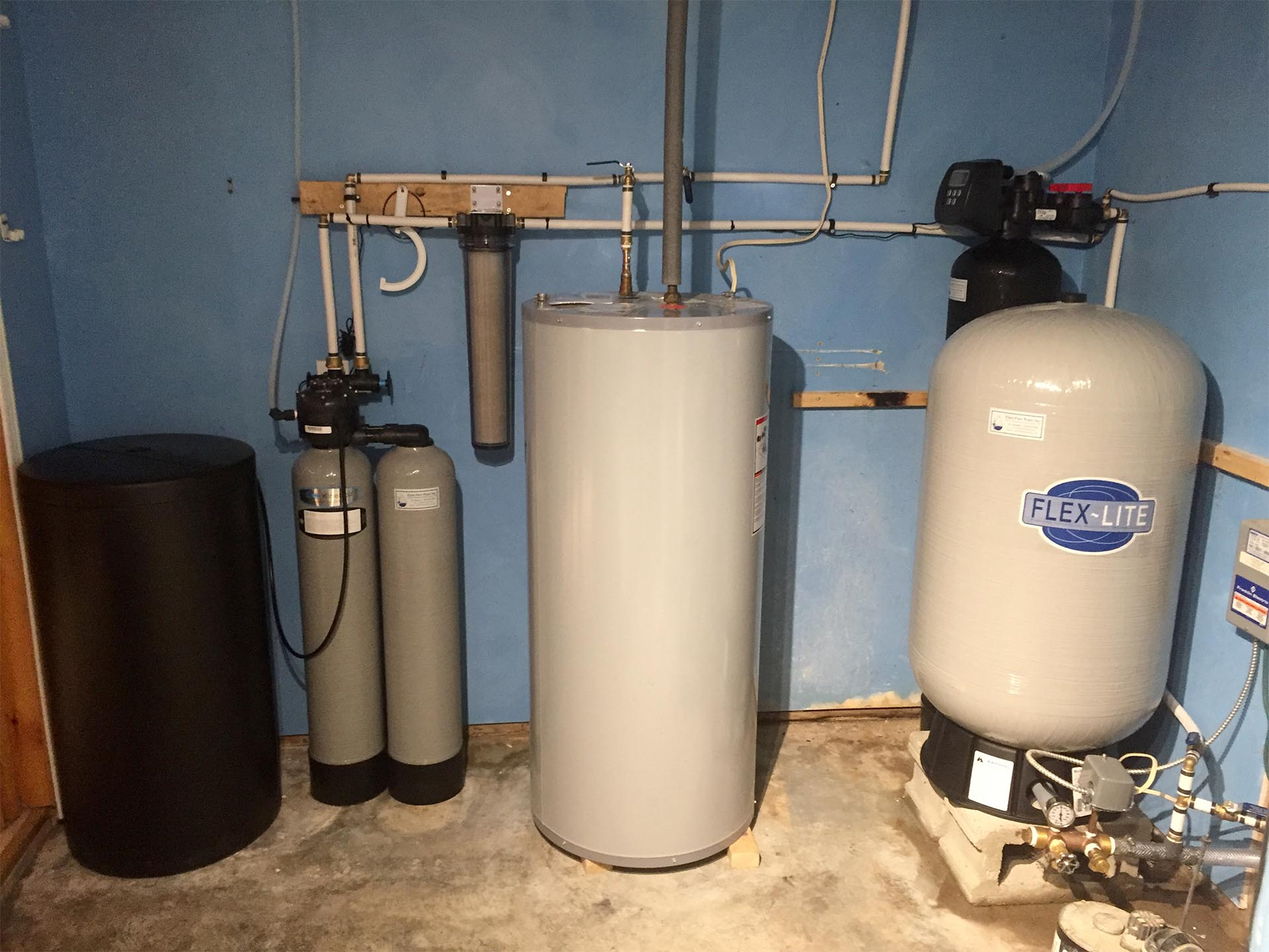Softener And Water Tank - After