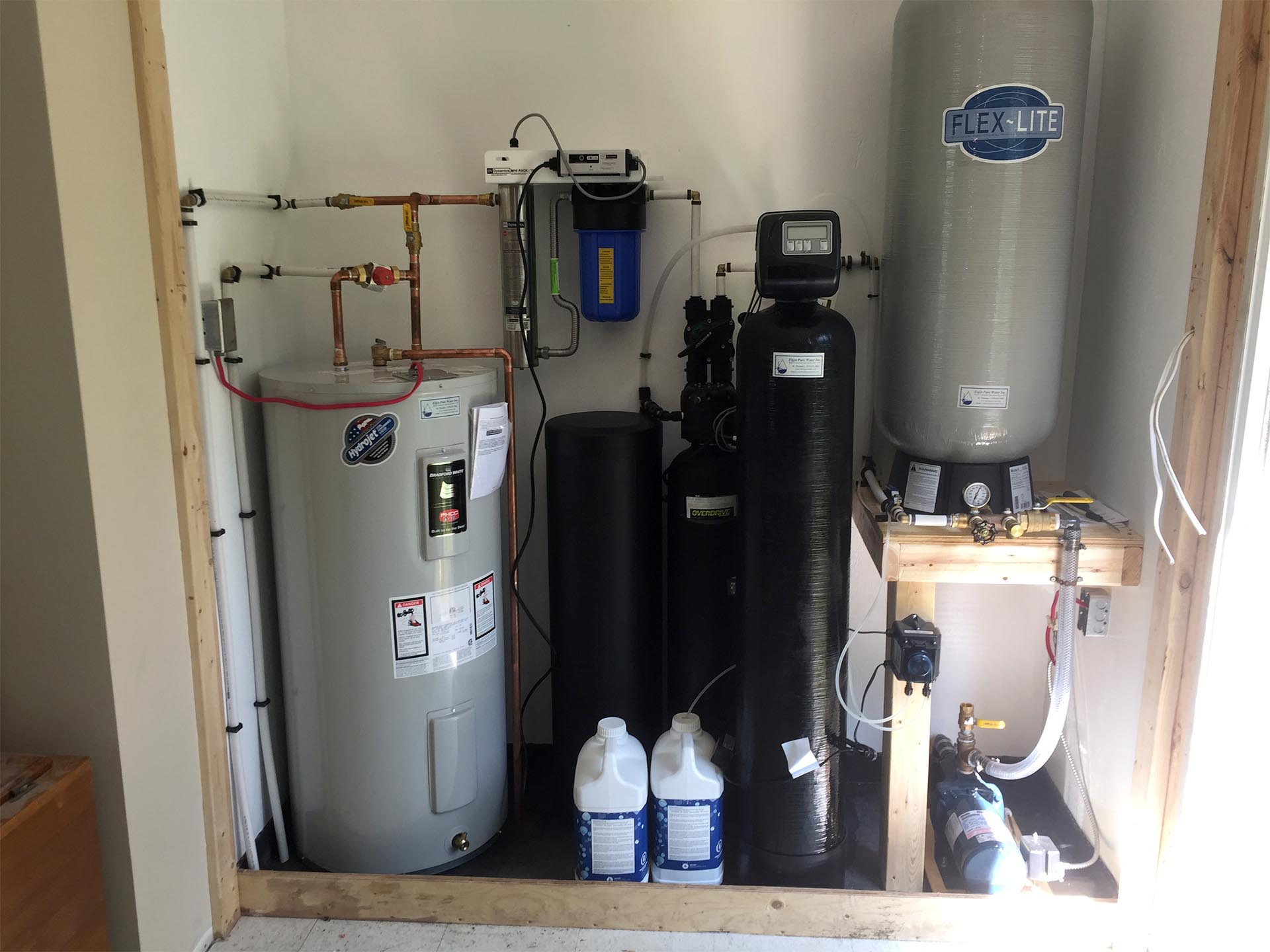 Complete Water System - After
