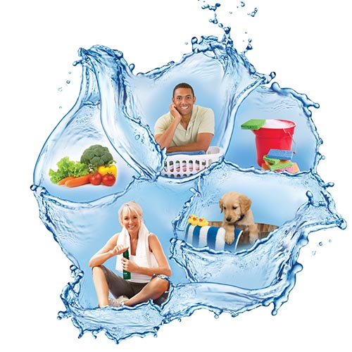 Kinetico Water Lifestyle Graphic